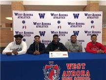 Latrell Slater signs to play football at Monmouth College!
