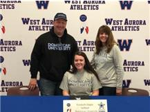 Libby Zoppa signs to play Softball at Dominican University!