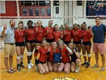 Girls Volleyball Wins Blackhawk Invite!