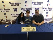 Anthony Malczyk signs with Aurora University to play baseball!