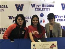 Yuvia Ontiveros signs to play soccer at Carthage!