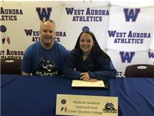 Madison Jacobson signs for Track & Field at Culver-Stockton!