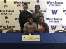 Anthony Hunt signs to play football at Central College!