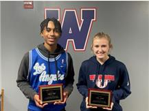 Anthony Eddy and Amber Arnold win the Adnerson/Apsit Leadership Award.