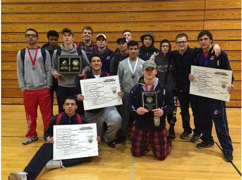 Wrestling wins UEC Valley