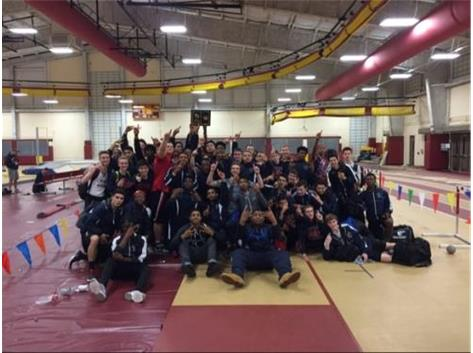 Boys Track brings home the UEC Indoor title!