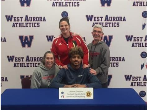 Camron Donatlan signs with Wyoming!