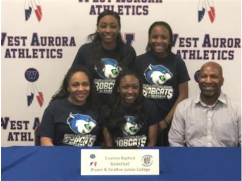 Essence Rayford signs with Bryant & Stratton to play Basketball!