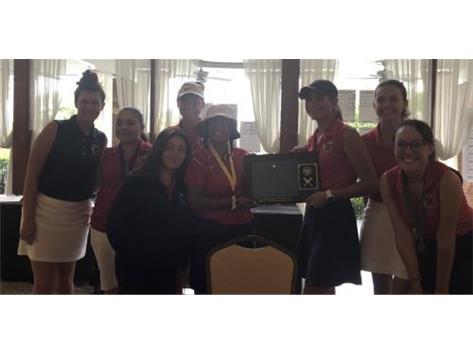 Girls Golf Wins UEC Title!
