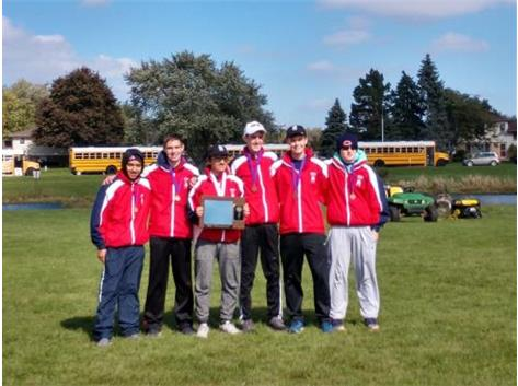 Boys XC wins UEC Title!