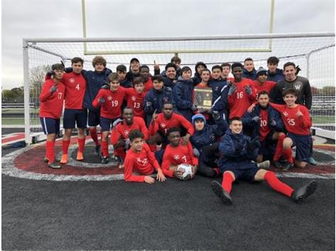 Boys Soccer Wins Regional Title!