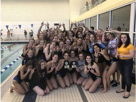 Girls Swimming Wins Blackhawk Invite!