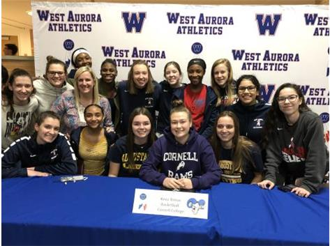 Keva Tomas signs with Cornell