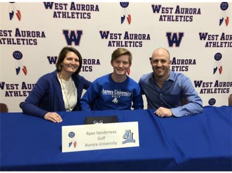 Ryan Vanderway signs with Aurora University