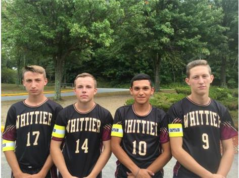 2016 Varsity Boys Soccer Captains