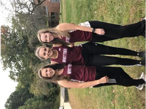 Captains Alli, Kaitlyn, Molly
