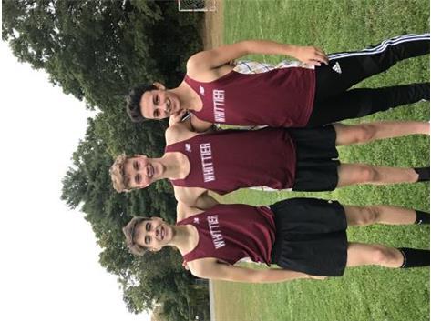 Captains John, Oliver, Derek