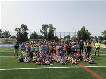 Say cheese! The 2019 Junior Eagles Summer Camp was bigger and better than ever! Over 95 campers, 20 counselors, and a BRAND NEW soccer field made this summer one to remember!