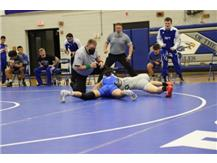Kaila fires up the bench with a pin!