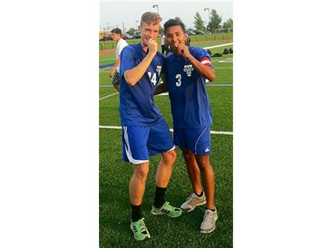 Seniors Adrian Gubala and Miguel Pina were selected to the Vernon Hills All-Tournament team.