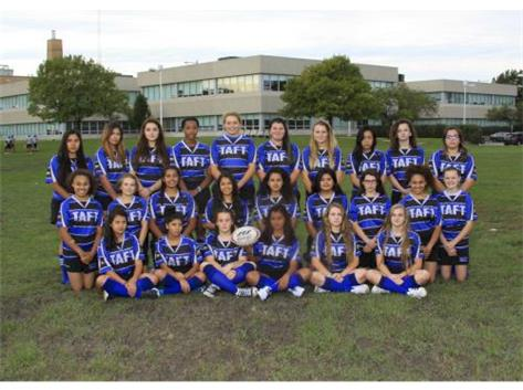 2016-2017 Fall Season Girls Rugby Team