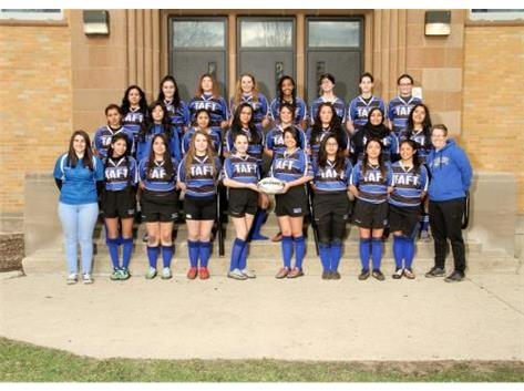 2016-2017 Girls Rugby Team