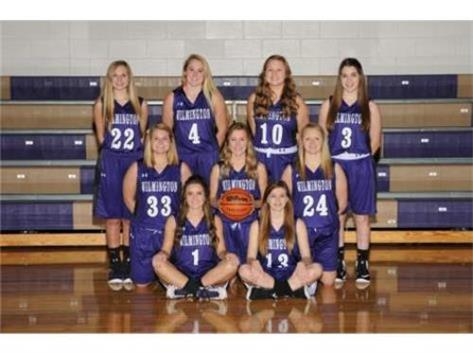Back left to right: Emma Kreitz, Miranda Southall, Justine Reents, Alicia Enz Middle left to right: Chloe Lombardi, Calin Wolcott, Caitlyn Brown Front left to right: Kaitlyn Lardi, Angel Boynton