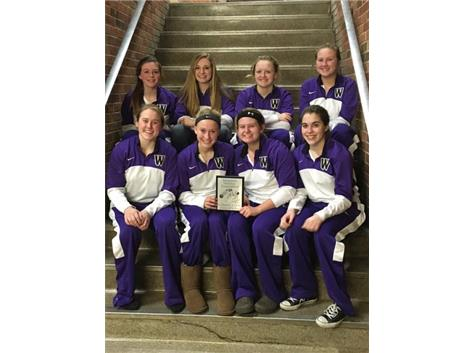 The Varsity Girls won the Consolation Championship at the Momence Holiday Tournament.