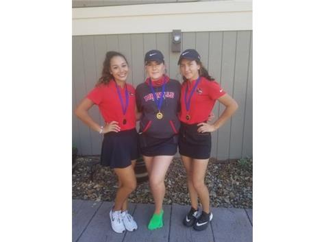 Girls Conference Winner & Medalist