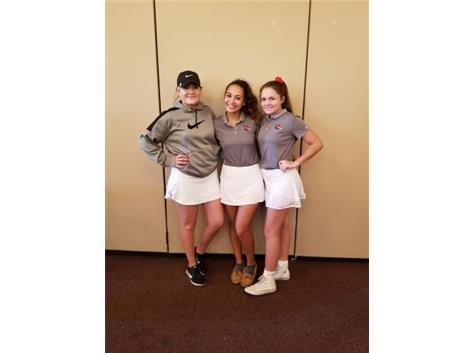 Girls Golf Regional Winner & Medalist