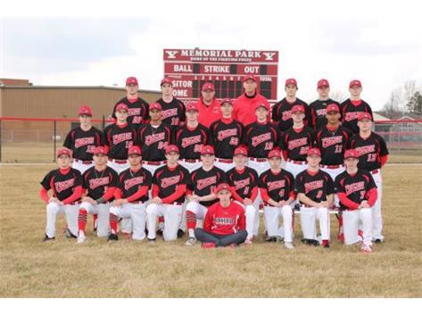 2019 Varsity Boys Baseball Team