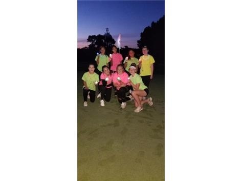 Glow Golf Scramble