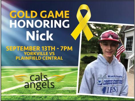 YHS Athletics Honors Nick
