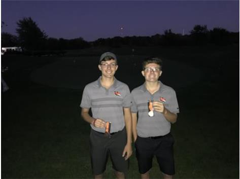 Ryan Waugh took home 2nd and Jonathan took home 5th place in the Minooka Invite