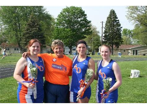 A Proud Coach and her Seniors