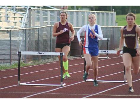 Over the hurdle