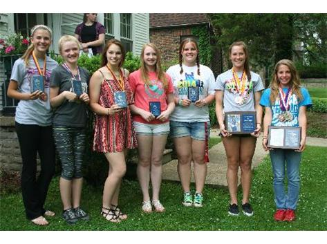 Girls Track Awards/Cookout