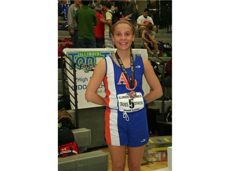 Indoor All-State Medalist 2015