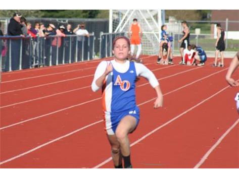 Maddie  TJ Champion and sprinter