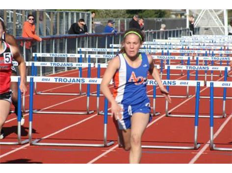 Cassie   Macon Co hurdle Champ