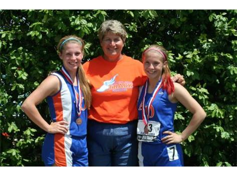 Proud Coach and State Medalists