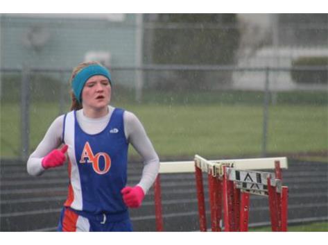 Bayleigh in rain snow sleet and rainbows