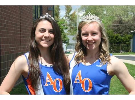 Bridget and Grace                 The Queens of the Track