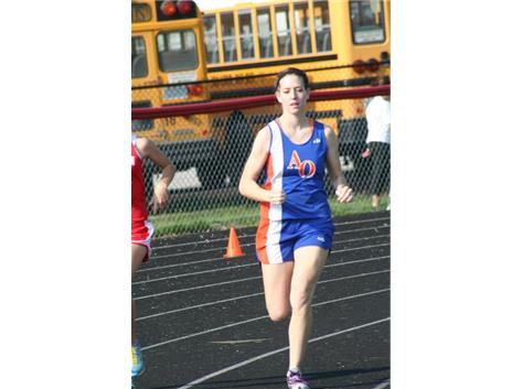 Haley in 3200 at Mt. Zion
