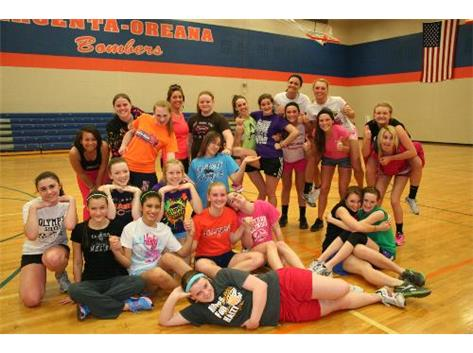 Indoor AO Girls Track Workouts 2013