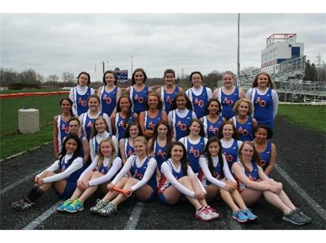 A-O Girls Track Team 2013
