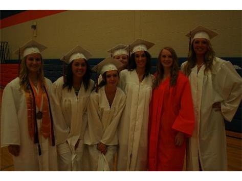 Sr. A-O Girls Track Graduates 2013