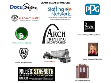 Thank you to all of our team sponsors this season!
