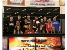 April 27th College Signing Day