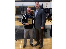 Coach Aaron Villette - Coaches 110% Award